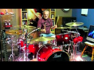 "Bon Jovi's ""Livin' on a Prayer"" Drum Cover By Domenic Nardone"