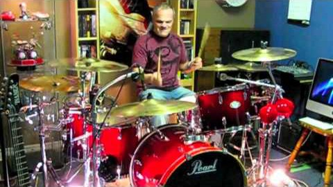 "Bon Jovi's ""Livin' on a Prayer"" Drum Cover By Domenic Nardone | Society Of Rock Videos"