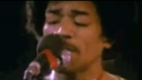"""Jimi Hendrix – """"All Along The Watchtower"""" (Isolated Guitar Track)   Society Of Rock Videos"""