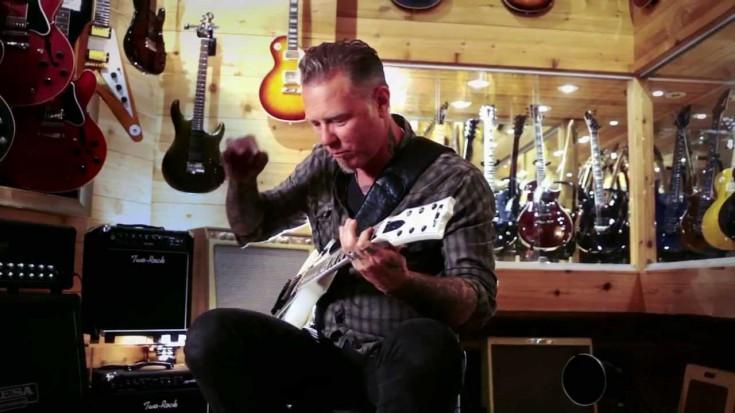 Metallica's James Hetfield At Guitar Center | Society Of Rock Videos