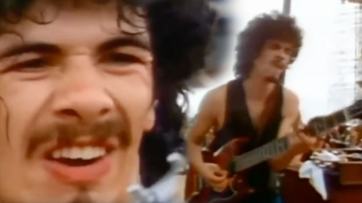 "Carlos Santana Takes Woodstock By Storm With ""Soul Sacrifice"" 
