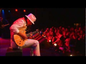 "Santana Wows Crowd With ""Europa"""