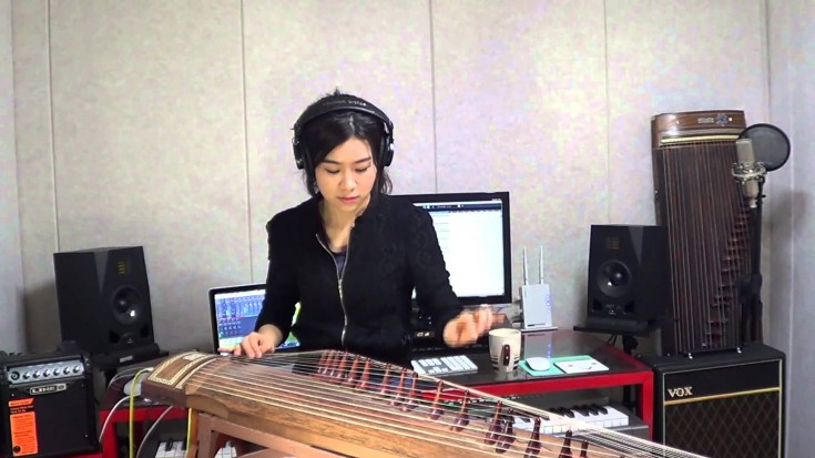 """SRV – """"Mary Had A Little Lamb"""" Gayageum Cover   Society Of Rock Videos"""