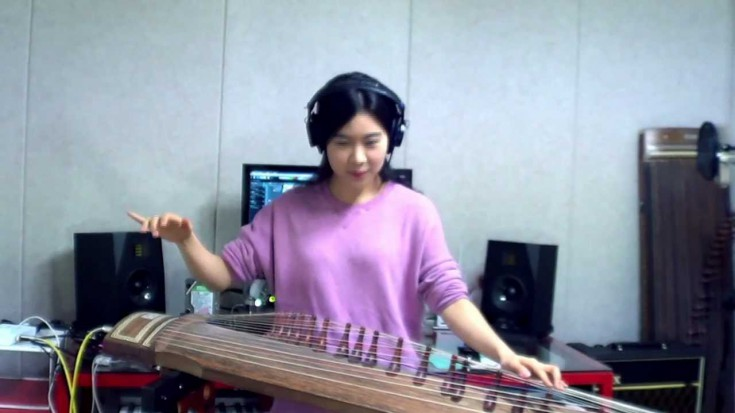 Voodoo Chile Cover On The Gayageum | Society Of Rock Videos