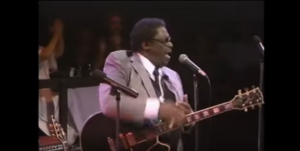 "B.B. King Sings ""Please Send Me Someone To Love"" Live At The Ebony Showcase Theatre"