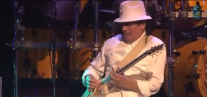 "Santana Tears It Up in ""A Love Supreme"" Live"