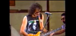 "Santana Playing ""Havana Moon/Nowhere to Run"" from 1983 Shango Tour in Europe"