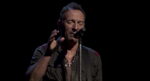 "High Quality Live Version Of Bruce Springsteen's ""The Wall"""