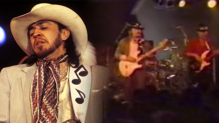 "Stevie Ray Vaughan Killing It With ""Superstition"" LIVE 