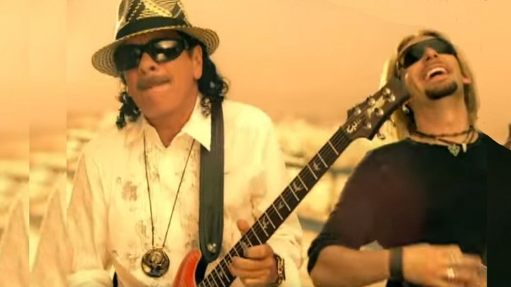 """Santana And Nickelback Collaborate For """"Into The Night""""   Society Of Rock Videos"""