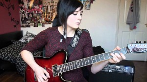 "A Cover By Izzy Johnson On The Classic Jimi Hendrix Song ""The Wind Cries Mary"""
