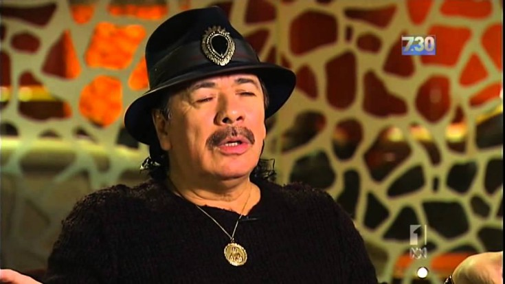 An ABC Interview With Carlos Santana | Society Of Rock Videos