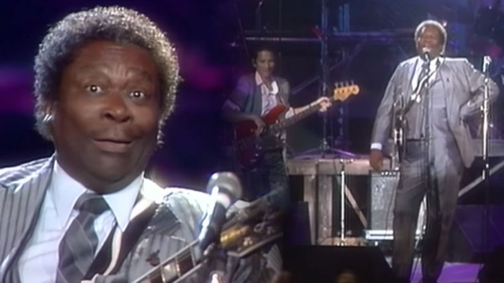 """B.B. King NAILS """"How Blue Can You Get"""" LIVE 