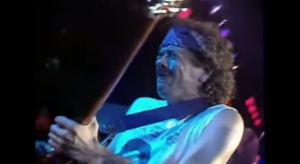 "Soulful Performance For ""Blues For Salvador"" By Santana Live"