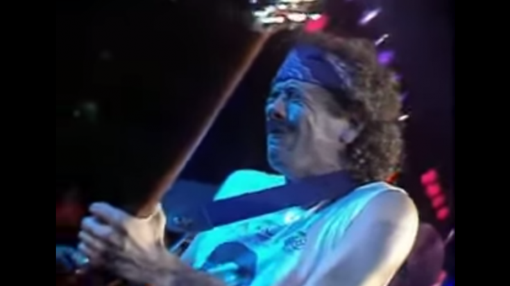 "Soulful Performance For ""Blues For Salvador"" By Santana Live 