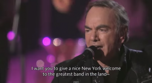 "Neil Diamond Sings ""Cherry Cherry"" Live From Madison Square Garden"