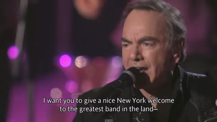 """Neil Diamond Sings """"Cherry Cherry"""" Live From Madison Square Garden 
