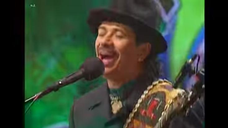 "High Quality Video Of Santana's ""(Da Le) Yaleo"" Live | Society Of Rock Videos"