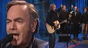 "Neil Diamond Plays ""Delirious Love"" LIVE On The Tonight Show"