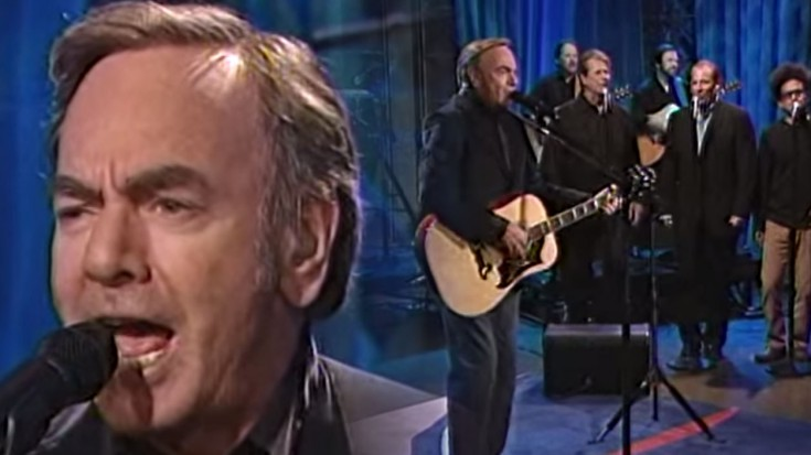 """Neil Diamond Plays """"Delirious Love"""" LIVE On The Tonight Show 