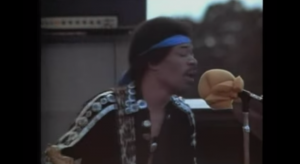 "Jimi Hendrix Performs ""Hear My Train A Comin'"" Live At Rainbow Bridge"
