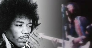 "AMAZING Jimi Hendrix Plays ""Johnny B. Goode"""