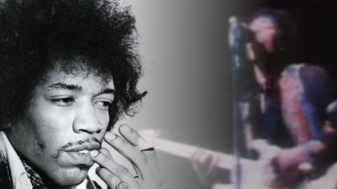 "AMAZING Jimi Hendrix Plays ""Johnny B. Goode"" 