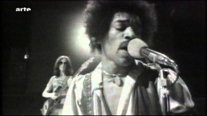"Jimi Hendrix Shreds It In ""Voodoo Chile (Slight Return)"" Live"