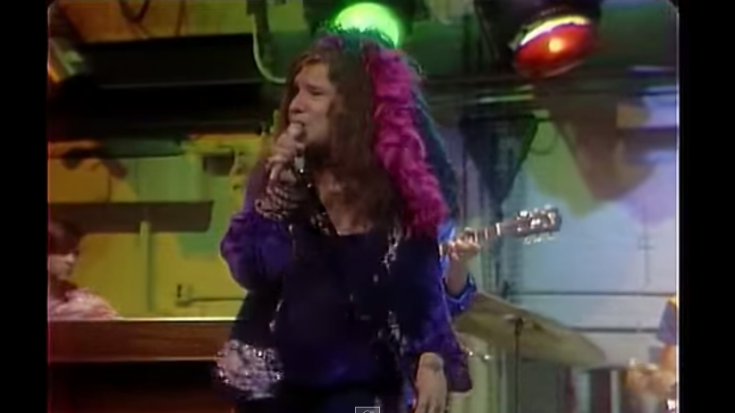 """High Quality Video Of Janis Joplin's """"Move Over"""" Live 