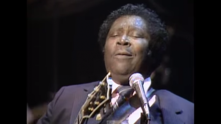 """B.B. King Sings """"Never Make Your Move Too Soon"""" Live At Nick's 