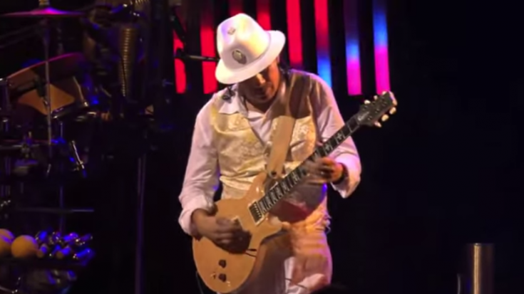 "Santana Rocks Montreux With A Live Version Of ""Samba Pa Ti"" | Society Of Rock Videos"