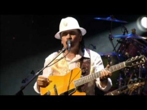 "Santana Rips It In ""Maria Maria"" Live In Montreux"