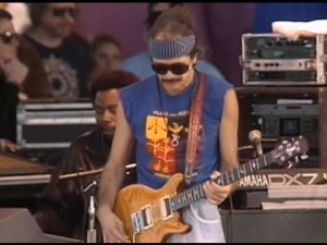 "Santana Tears It In ""She's Not There"" Live In Watsonville, CA"