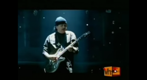 Musical Showdown Between Santana and Slash