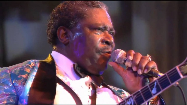 "Soulful Rendition Of B.B. King's ""Ain't Nobody Home"" Live 