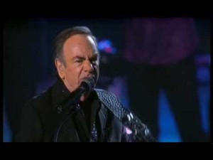 "Splendid Live Performance Of Neil Diamond's ""Beautiful Noise"""