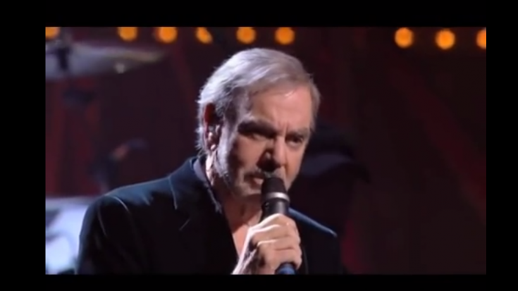 "Neil Diamond Mesmerizes With A Live Version Of ""The Art Of Love"" 
