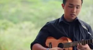 "Incredible Cover Of Santana's ""Europa"" Using Ukulele, Cajon, Keyboard and Bass"
