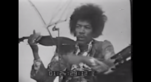 Rare Footage Of Jimi Hendrix Playing Piano And Violin