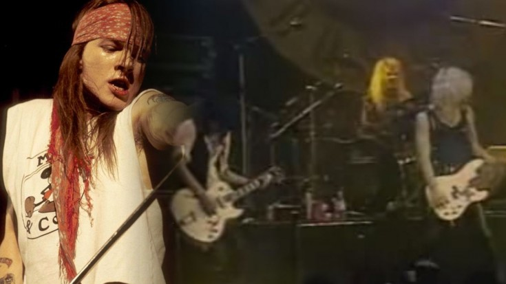 """Guns N' Roses """"Welcome To The Jungle"""" LIVE 1988 