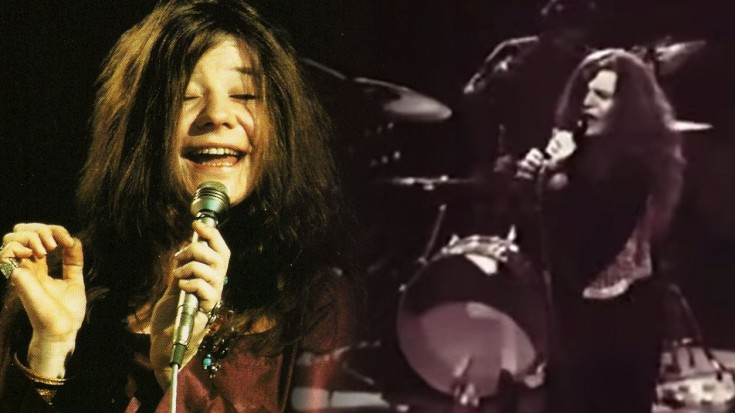 "Emotional ""Work Me, Lord"" Performance by Janis Joplin LIVE in Sweden 