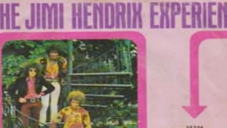 The Jimi Hendrix Experience – Burning Of The Midnight Lamp ...