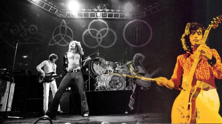 Led Zeppelin – Black Dog Live 1973 (WATCH) | Society Of Rock Videos