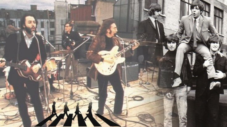 Beatles Don T Let Me Down 1969 Society Of Rock