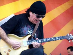 Carlos Santana Solo at JazzFest