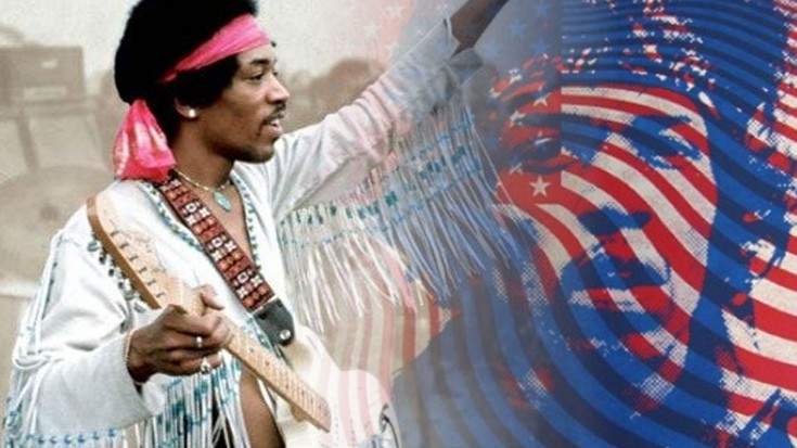 Jimi Hendrix – The Star Spangled Banner Live at Woodstock | Society Of Rock Videos