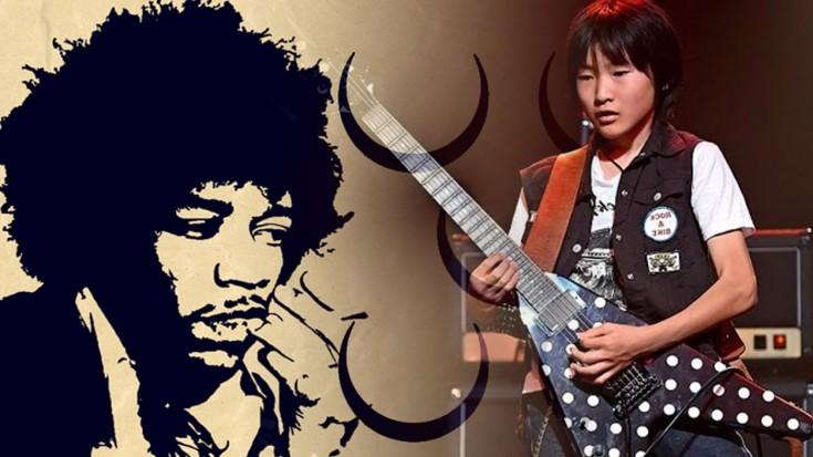 Yuto Miyazawa tribute to Hendrix' – Star Spangled Banner | Society Of Rock Videos