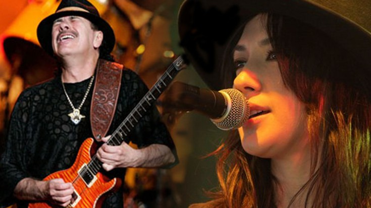 Santana and Michelle Branch perform The Game Of Love | Society Of Rock Videos