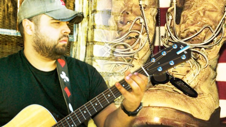Wounded Veteran Delivers Emotional Rendition Of 'Simple Man' | Society Of Rock Videos