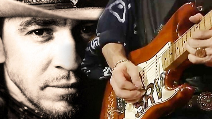 """Stevie Ray Vaughan Does """"Tightrope"""" LIVE 